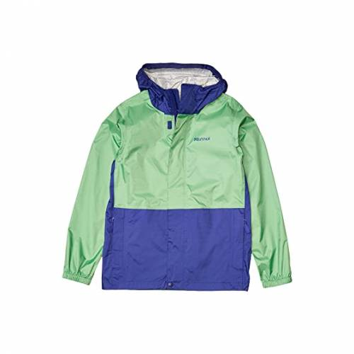 MARMOT KIDS ナイト PRECIP 【 MARMOT KIDS ECO JACKET LITTLE BIG EMERALD ROYAL NIGHT 】 キッズ ベビー マタニティ コート