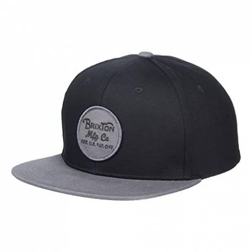 ブリクストン BRIXTON スナップバック バッグ キャップ 帽子 メンズキャップ メンズ 【 Wheeler Snapback 】 Black/charcoal
