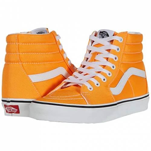 バンズ VANS Sk8hi・・ スニーカー メンズ ユニセックス 【 Sk8-hi・・ 】 (neon) Blazing Orange/true White