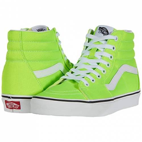 バンズ VANS Sk8hi・・ スニーカー メンズ ユニセックス 【 Sk8-hi・・ 】 (neon) Green Gecko/true White