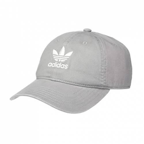 アディダスオリジナルス ADIDAS ORIGINALS バッグ キャップ 帽子 メンズキャップ メンズ 【 Originals Relaxed Strapback Hat 】 Dove Grey/white