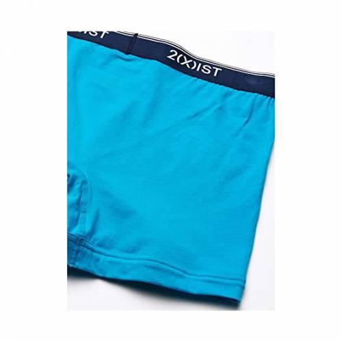 ツーイグジスト 2(X)IST インナー 下着 ナイトウエア メンズ 【 Stretch 3 Pack Boxer Brief 】 Thin Stripe/navy/caribbean Sea/dream Blue