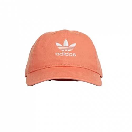 アディダスオリジナルス ADIDAS ORIGINALS キャップ 帽子 バッグ レディースキャップ レディース 【 Originals Relaxed Strapback Cap 】 Semi Flash Orange/white