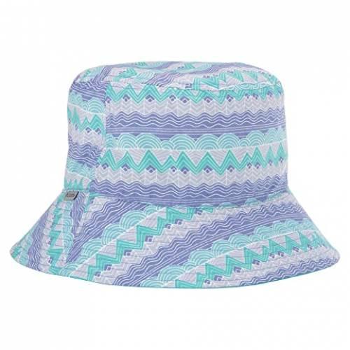 コロンビアキッズ COLUMBIA KIDS Grabber・・ キッズ ベビー マタニティ キャップ 帽子 ジュニア 【 Pixel Grabber・・ Bucket Hat (big Kids) 】 African Violet Stripe/bright Aqua/african