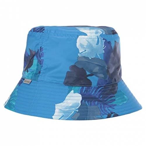 コロンビアキッズ COLUMBIA KIDS Grabber・・ キッズ ベビー マタニティ キャップ 帽子 ジュニア 【 Pixel Grabber・・ Bucket Hat (big Kids) 】 Azure Blue Tropical Monsteras/azul