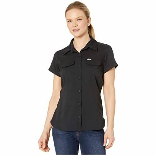 コロンビア COLUMBIA 銀色 シルバー ライト スリーブ Ridge・・ レディースファッション トップス レディース 【 Silver Ridge・・ Lite Short Sleeve Shirt 】 Black