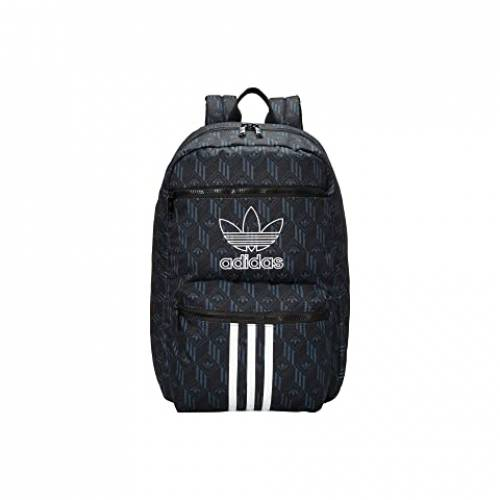 アディダスオリジナルス ADIDAS ORIGINALS バックパック バッグ リュックサック ユニセックス 【 Originals National 3-stripes Backpack 】 Black/bold Onix