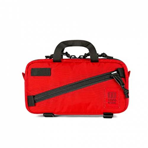 TOPO DESIGNS クイック バッグ ユニセックス 【 Mini Quick Pack 】 Red/red