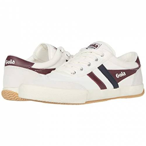GOLA スニーカー メンズ 【 Badminton 】 Off-white/burgundy/navy