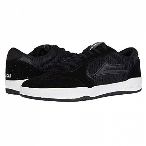 LAKAI スニーカー メンズ 【 Atlantic 】 Black Suede/canvas