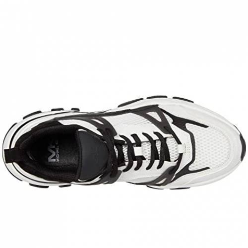MICHAEL KORS 白 ホワイト 黒 ブラック スニーカー 【 WHITE BLACK MICHAEL KORS NICK OPTIC 】 メンズ スニーカー