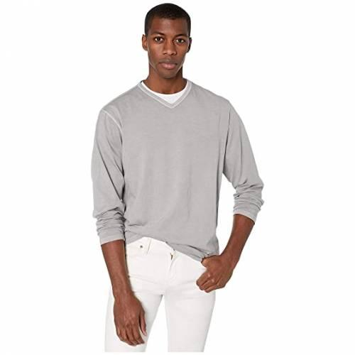 MOD-O-DOC スリーブ ブイネック メンズファッション トップス Tシャツ カットソー メンズ 【 Long Beach Long Sleeve V-neck 】 Drizzle