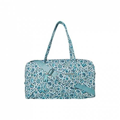 VERA BRADLEY ダッフル バッグ レディース 【 Iconic Lay Flat Travel Duffel 】 Cloud Vine