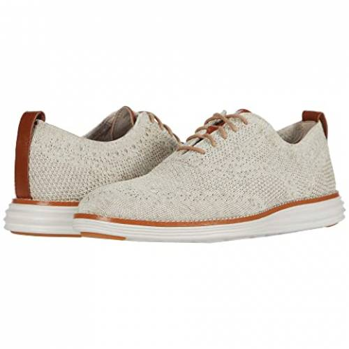 コールハーン COLE HAAN グランド オックスフォード スニーカー メンズ 【 Original Grand Stitchlite Wing Tip Oxford 】 Birch/amphora Knit/pumice Stone