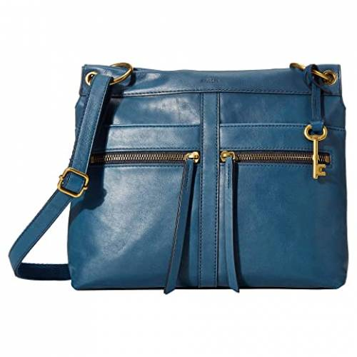 FOSSIL バッグ レディース 【 Caitlyn Crossbody 】 Twilight Blue