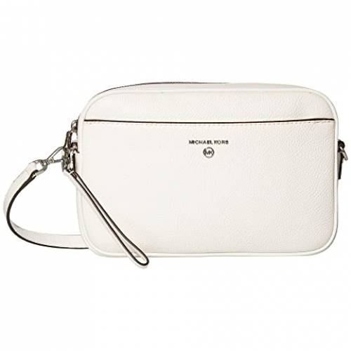 MICHAEL MICHAEL KORS カメラ バッグ レディース 【 Jet Set Charm Large East/west Camera Crossbody 】 Optic White