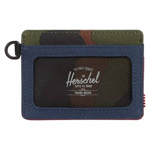HERSCHEL SUPPLY CO. バッグ ユニセックス 【 Charlie Id Rfid 】 Navy/red/woodland Camo