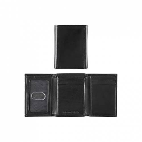 JOHNSTON & MURPHY ウォレット 財布 バッグ メンズ 【 Trifold Wallet 】 Black Full Grain