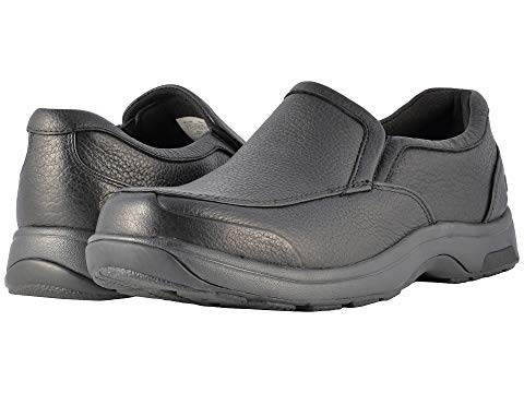 ダナム DUNHAM パーク スリッポン メンズ ローファー 【 Battery Park Slip-on 】 Black Polished Leather