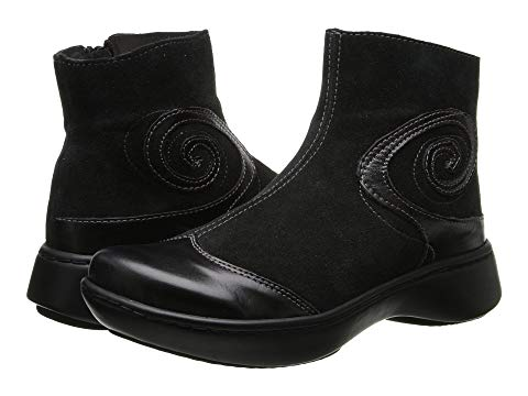 NAOT メンズ ブーツ レディース 【 Oyster 】 Black Suede/black Madras