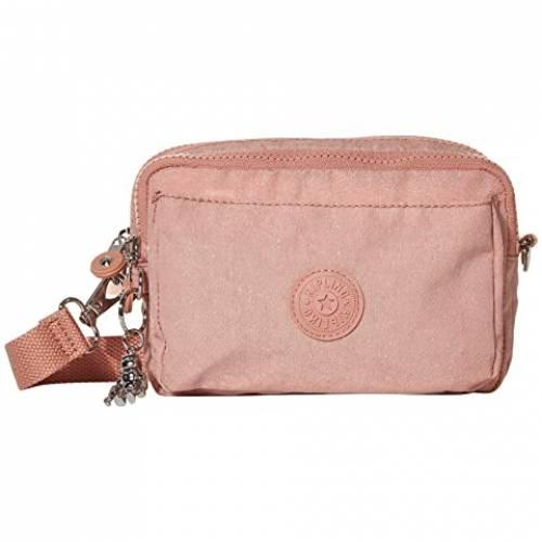 KIPLING バッグ レディース 【 Abanu Multi Convertible Crossbody Bag 】 Galaxy Twist Pink