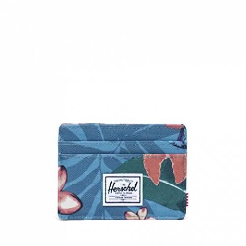 HERSCHEL SUPPLY CO. バッグ ユニセックス 【 Charlie Rfid 】 Summer Floral Heaven Blue