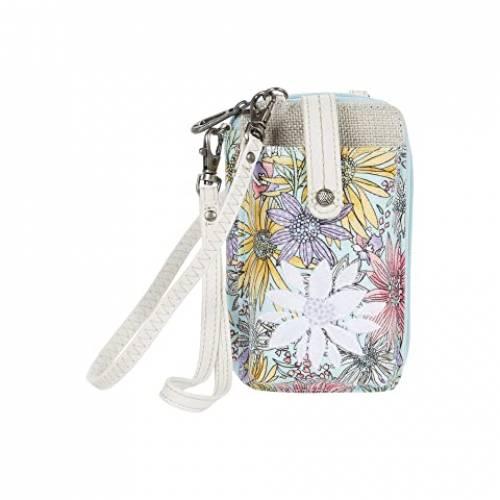 SAKROOTS バッグ レディース 【 Artist Circle Smartphone Wristlet 】 Pastel Flower Garden