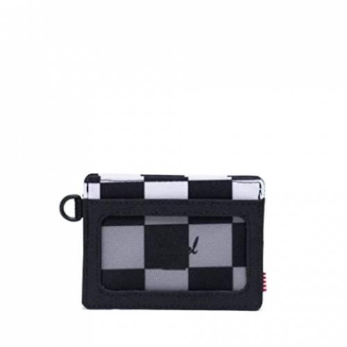 HERSCHEL SUPPLY CO. バッグ ユニセックス 【 Charlie Id Rfid 】 Checker Black/white/black