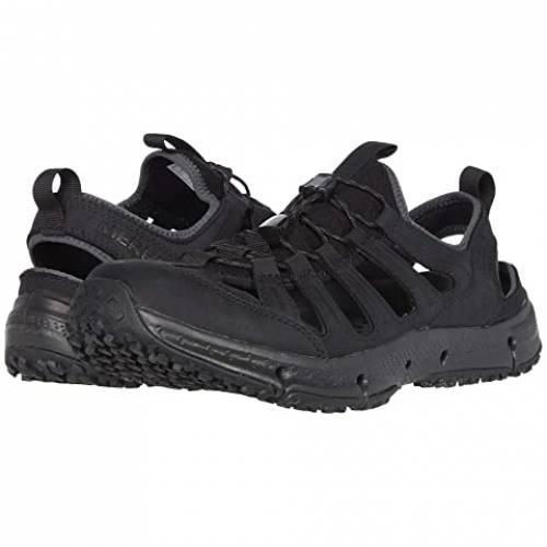 MERRELL レザー スニーカー メンズ 【 Hydrotrekker Leather Sieve 】 Black