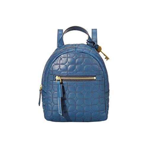 FOSSIL バックパック バッグ リュックサック レディース 【 Megan Mini Backpack 】 Twilight Blue