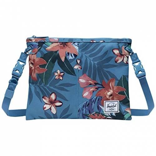 HERSCHEL SUPPLY CO. バッグ ユニセックス 【 Alder 】 Summer Floral Heaven Blue