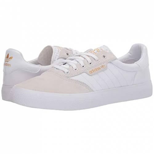 アディダススケートボーディング ADIDAS SKATEBOARDING スニーカー メンズ 【 3mc 】 Crystal White/footwear White/gold Metallic