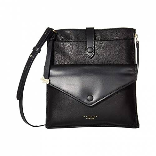 RADLEY LONDON スリム バッグ レディース 【 Wilton Way - Medium Slim Tab Crossbody 】 Black