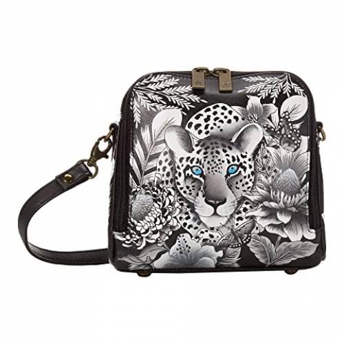 アヌシュカハンドバッグ ANUSCHKA HANDBAGS アラウンド バッグ レディース 【 Zip Around Travel Organizer - 668 】 Cleopatra's Leopard