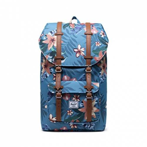 HERSCHEL SUPPLY CO. バッグ メンズバッグ ユニセックス 【 Little America 】 Summer Floral Heaven Blue