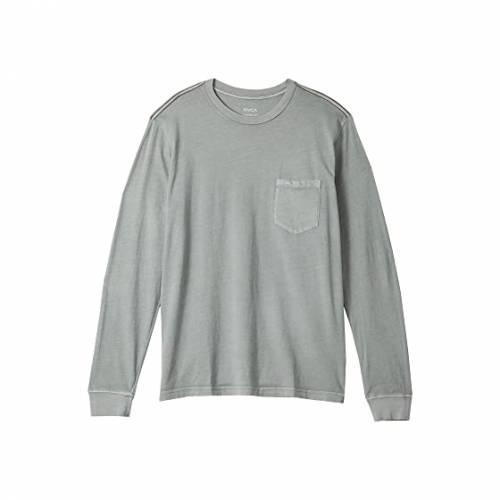 RVCA スリーブ メンズファッション トップス Tシャツ カットソー メンズ 【 Ptc Pigment Long Sleeve 】 Monument