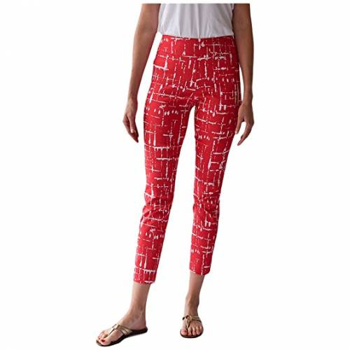 KRAZY LARRY 【 KRAZY LARRY PULLON ANKLE PANTS WATERMELON LINES 】 レディースファッション ボトムス パンツ