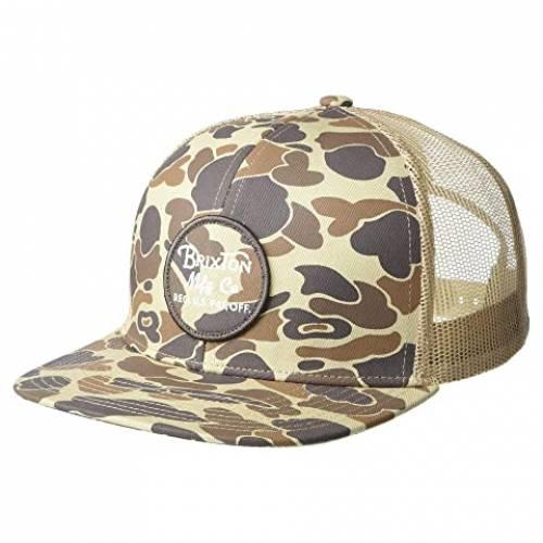 ブリクストン BRIXTON キャップ 帽子 バッグ メンズキャップ メンズ 【 Wheeler Mesh Cap 】 Duck Camo