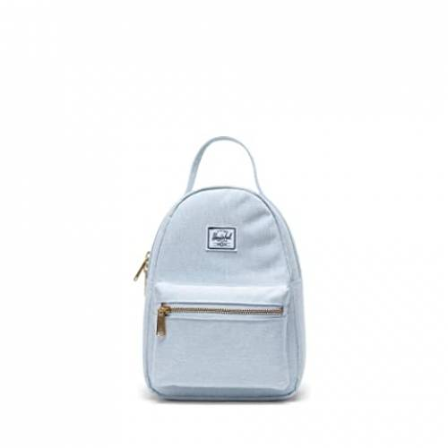 HERSCHEL SUPPLY CO. バッグ ユニセックス 【 Nova Mini 】 Ballad Blue Pastel Crosshatch