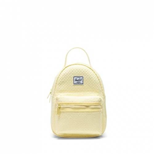 HERSCHEL SUPPLY CO. バッグ ユニセックス 【 Nova Mini 】 Lemonade Pastel