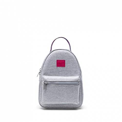 HERSCHEL SUPPLY CO. バッグ ユニセックス 【 Nova Mini 】 Light Grey Crosshatch Sunrise