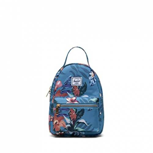 HERSCHEL SUPPLY CO. バッグ ユニセックス 【 Nova Mini 】 Summer Floral Heaven Blue