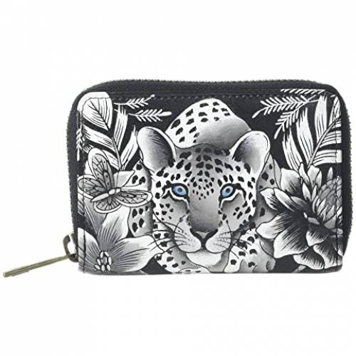 アヌシュカハンドバッグ ANUSCHKA HANDBAGS バッグ レディース 【 Credit And Business Card Holder 1110 】 Cleopatra's Leopard