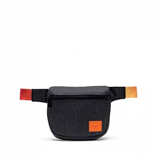 HERSCHEL SUPPLY CO. バッグ ユニセックス 【 Fifteen 】 Black Crosshatch Sunset