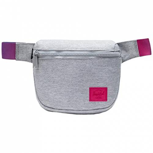 HERSCHEL SUPPLY CO. バッグ ユニセックス 【 Fifteen 】 Light Grey Crosshatch Sunrise