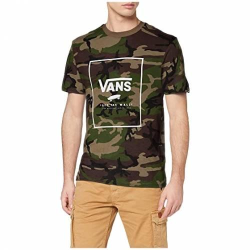 バンズ VANS ボックス Tシャツ メンズファッション トップス カットソー メンズ 【 Print Box Tee 】 Camo/white