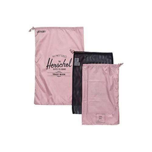 HERSCHEL SUPPLY CO. バッグ ユニセックス 【 Laundry/shoe Set 】 Ash Rose