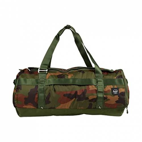 HERSCHEL SUPPLY CO. ダッフルバッグ バッグ ユニセックス 【 Sutton Carryall Duffle Trail 】 Woodland Camo