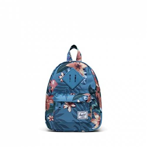 HERSCHEL SUPPLY CO. バッグ ユニセックス 【 Heritage Mini 】 Summer Floral Heaven Blue