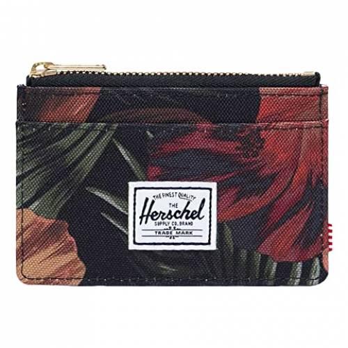 HERSCHEL SUPPLY CO. バッグ 財布 ケース ユニセックス 【 Oscar Rfid 】 Tropical Hibiscus